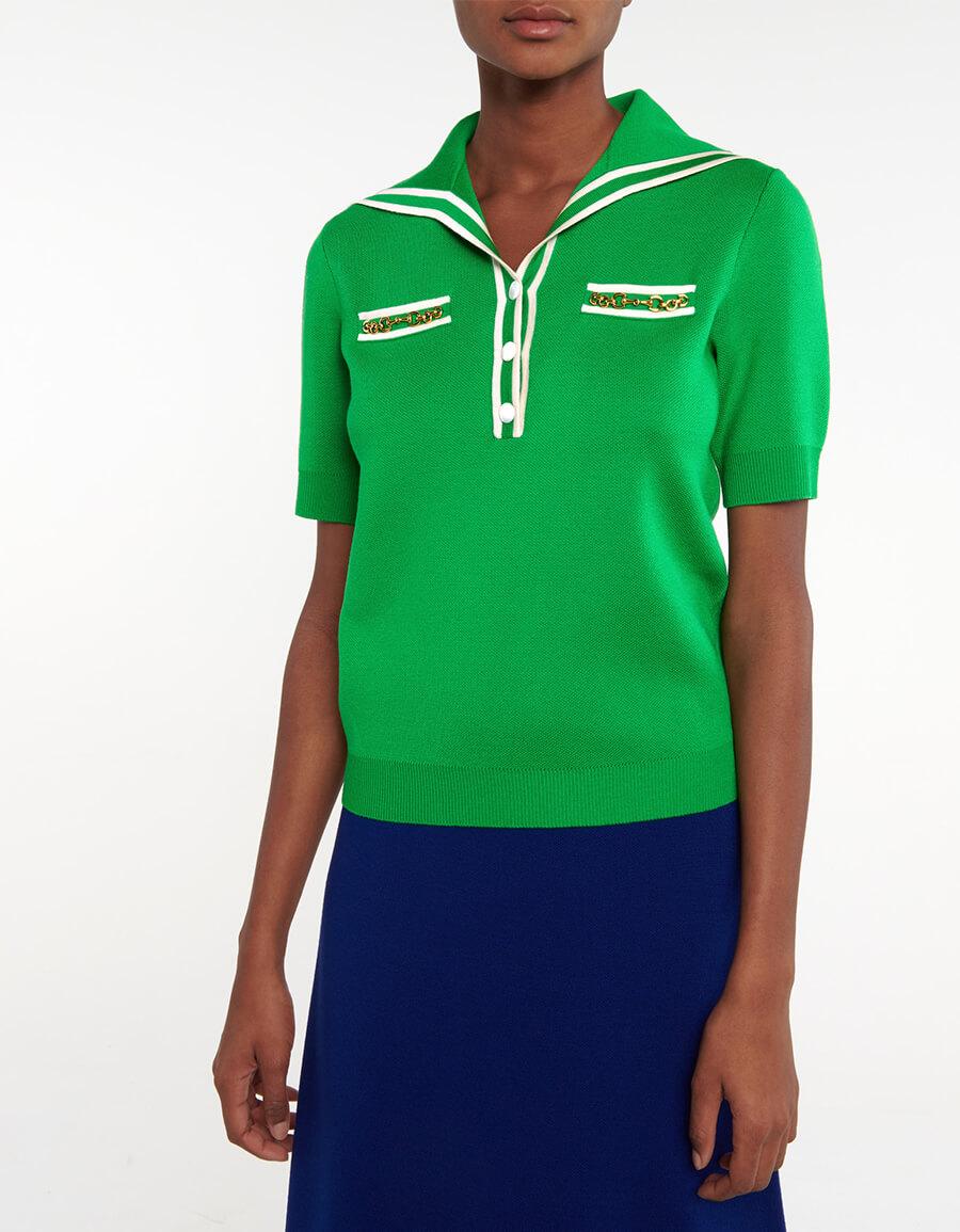 GUCCI Wool polo shirt