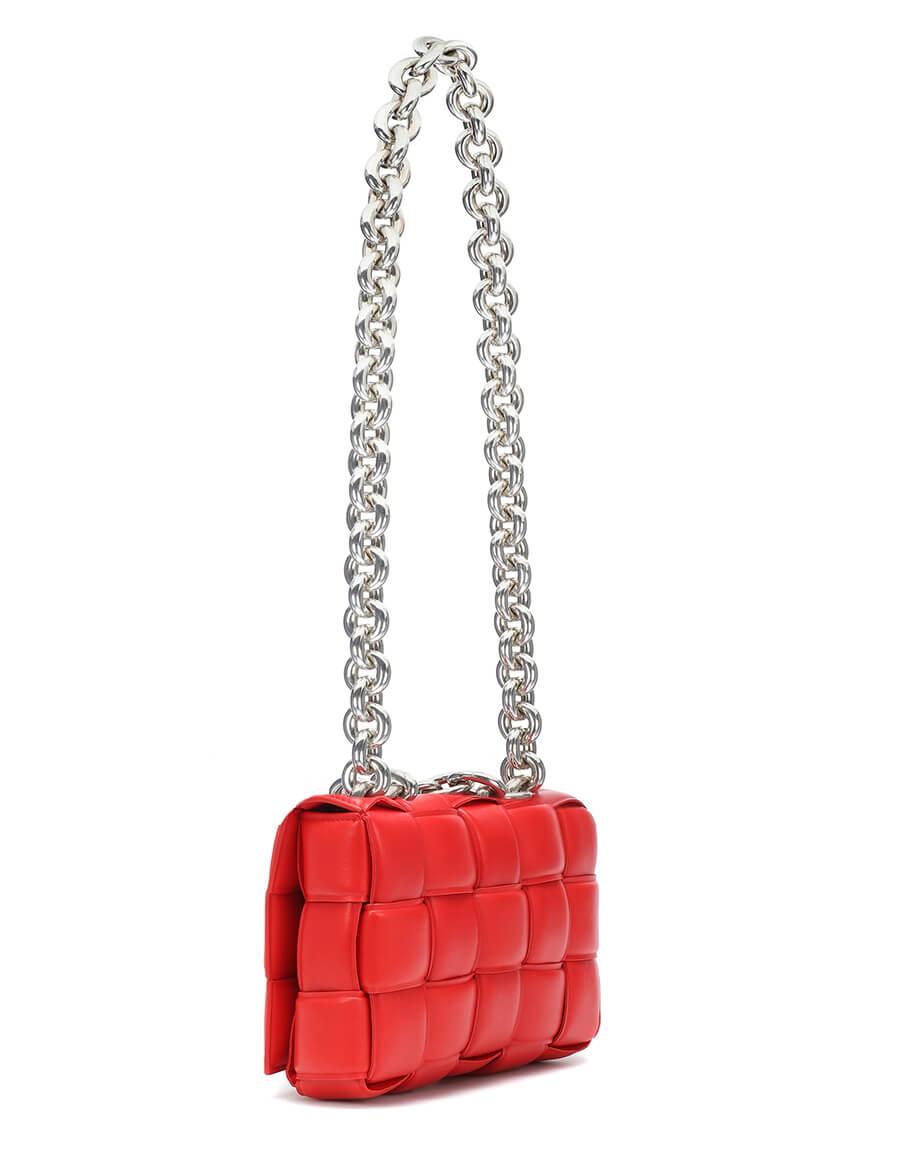 BOTTEGA VENETA The Chain Cassette leather shoulder bag