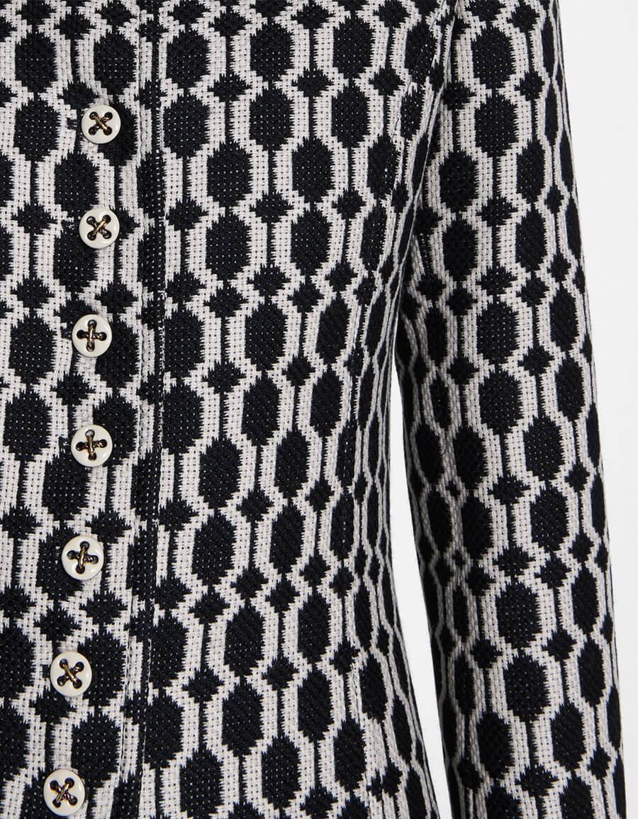 GUCCI Tweed jacquard jacket