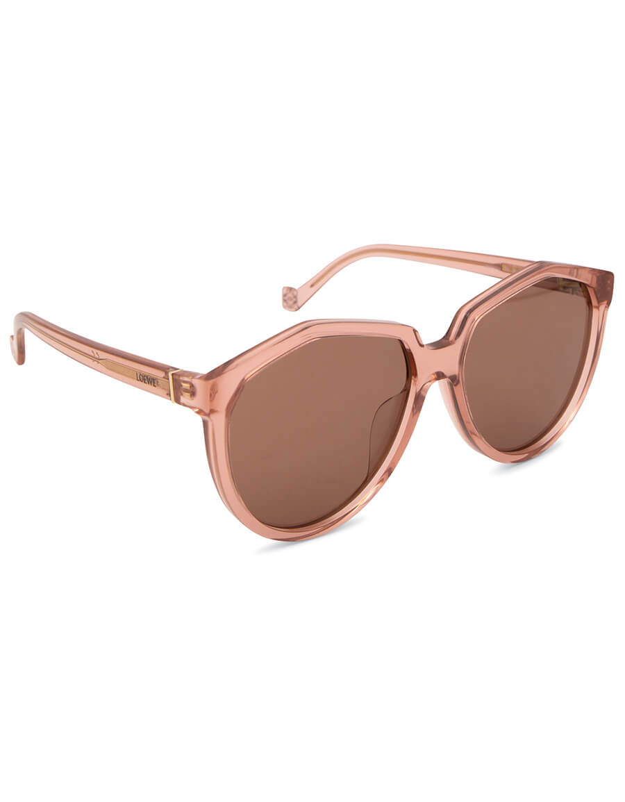 LOEWE Round acetate sunglasses