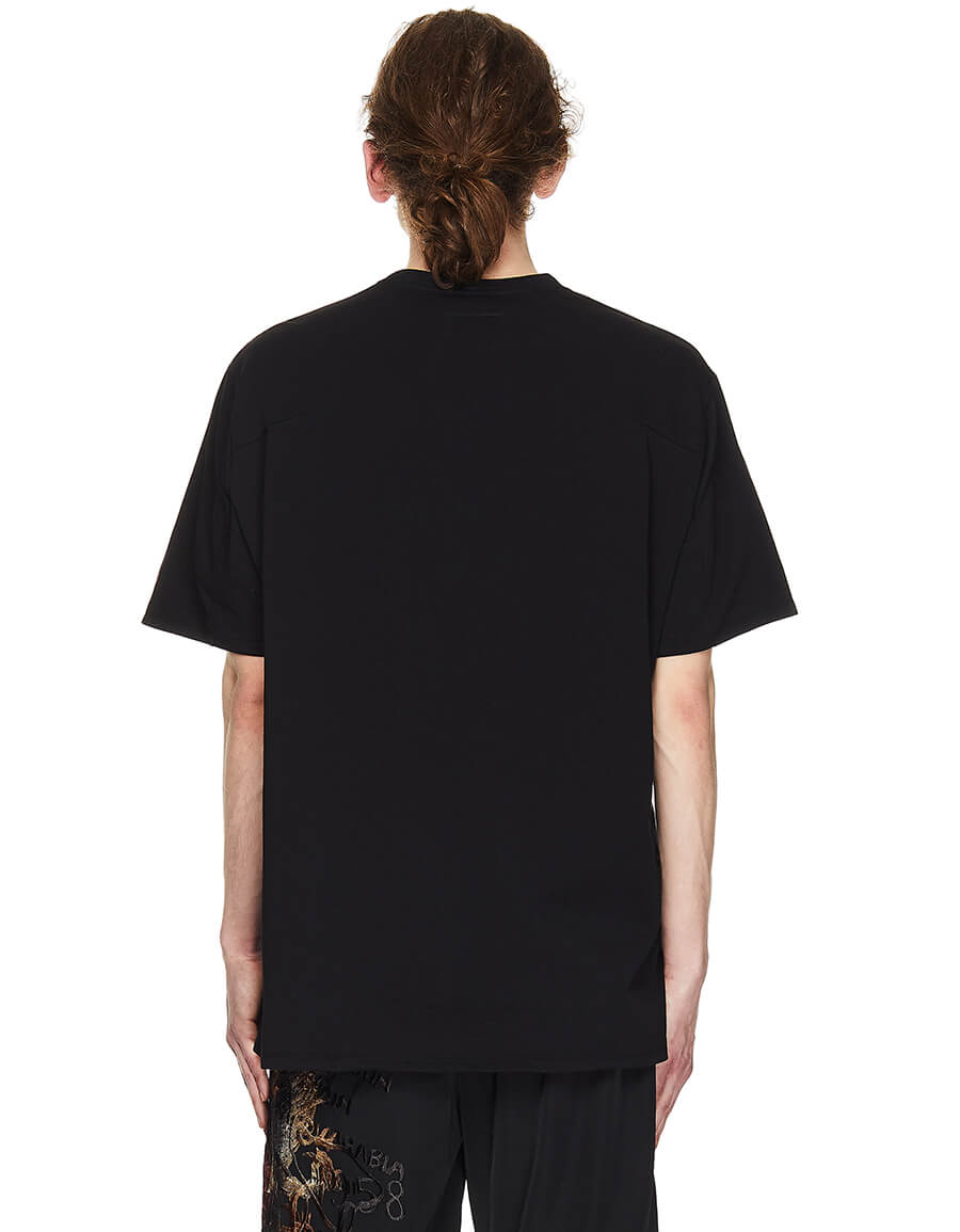 DOUBLET T shirt With Lettering & Pouch