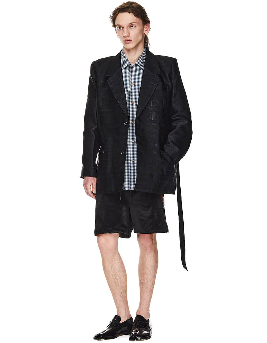 DOUBLET Belted Merry Unbirthday Jacket