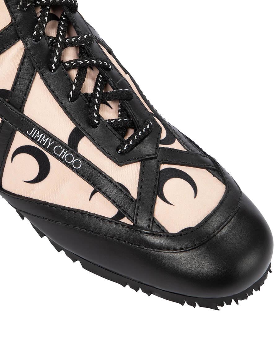 JIMMY CHOO Exclusive to Mytheresa – x Marine Serre printed knee high boots