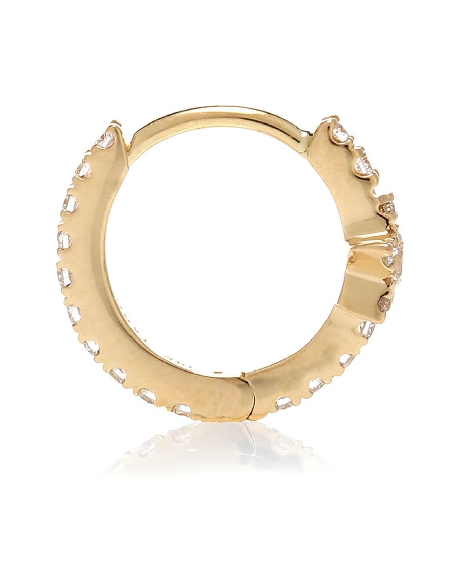 MARIA TASH Diamond Star Eternity 18kt gold single earring with diamonds