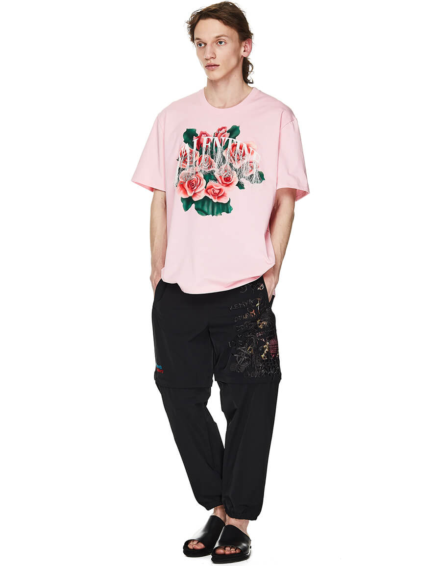 DOUBLET Embroidered Valentine T shirt