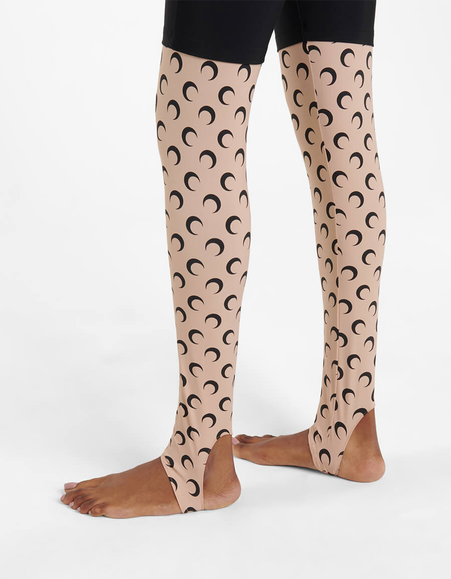 MARINE SERRE Exclusive to Mytheresa – Printed stretch jersey leggings