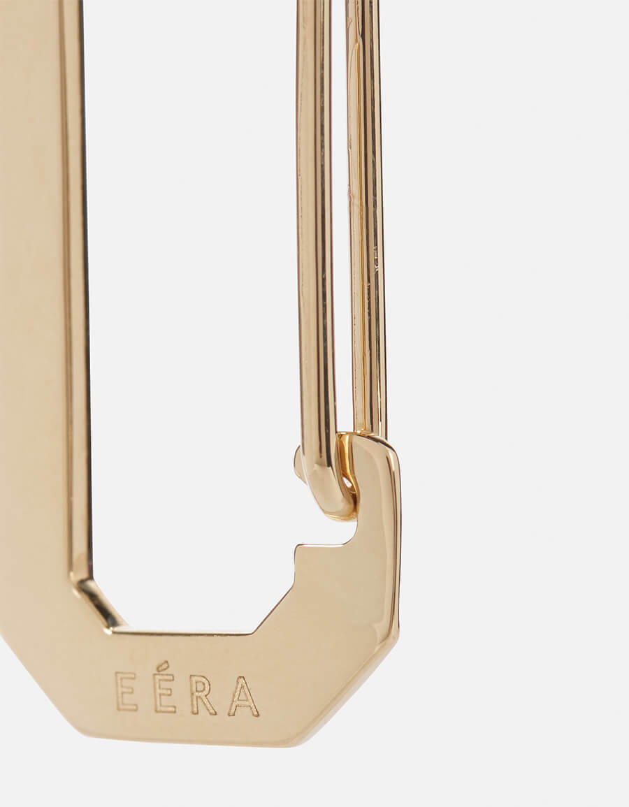 EÉRA Big Chiara 18kt gold earring with diamonds