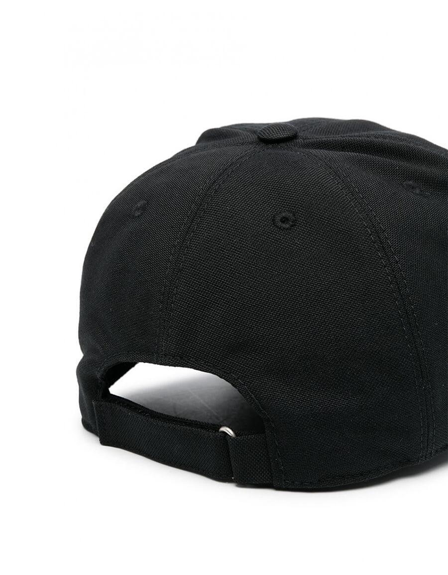 GIVENCHY CURVED LOGO BASEBALL CAP