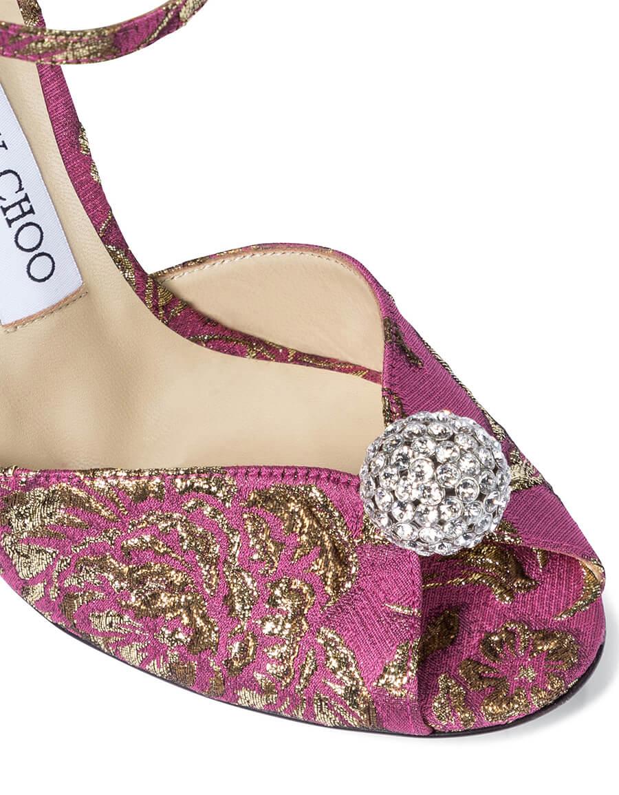 JIMMY CHOO Exclusive to Mytheresa – Sacora 100 brocade sandals