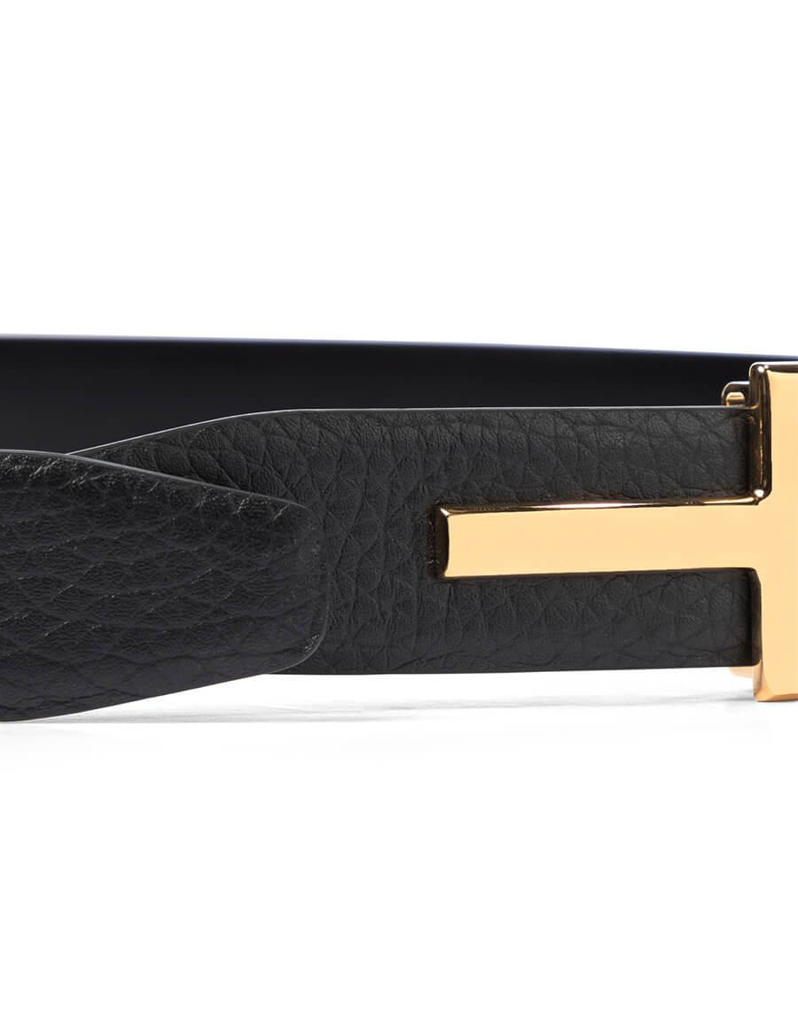 TOM FORD Monogram leather belt